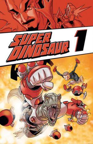 Super Dinosaur 1 - Das Cover