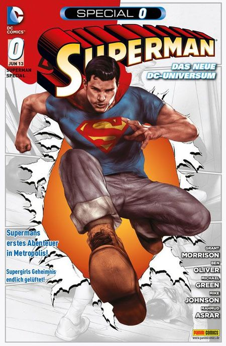 Superman Special 0 - Das Cover