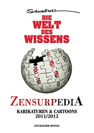 Die Welt des Wissens - Karikaturen & Cartoons 2011/2012 - Das Cover