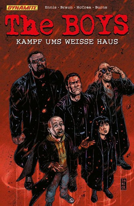 The Boys 12: Kampf ums weisse Haus - Das Cover