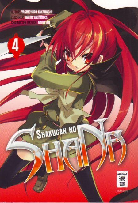 Shakugan no ShaNa 4 - Das Cover