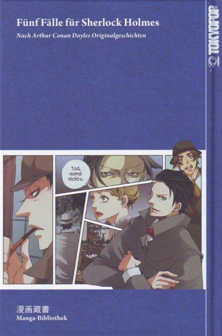 Fünf Fälle für Sherlock Holmes - Das Cover