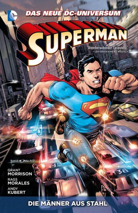 Superman: Die Männer aus Stahl 1 - Das Cover