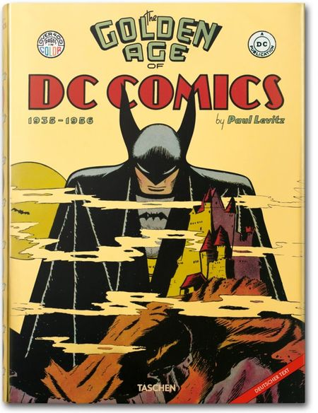 The Golden Age of DC Comics - Das Cover