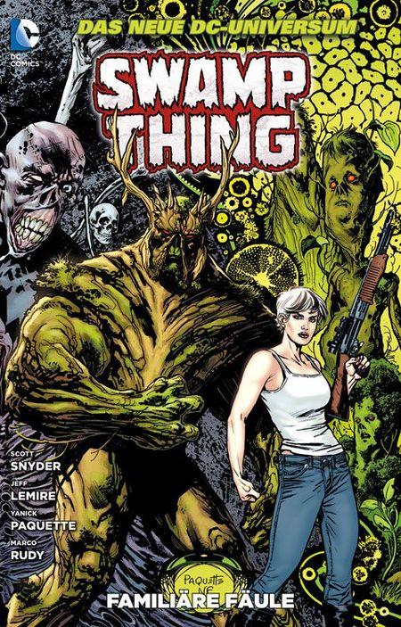 Swamp Thing 2: Familiäre Fäule - Das Cover