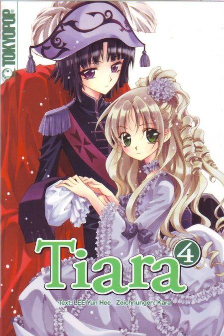Tiara 4 - Das Cover