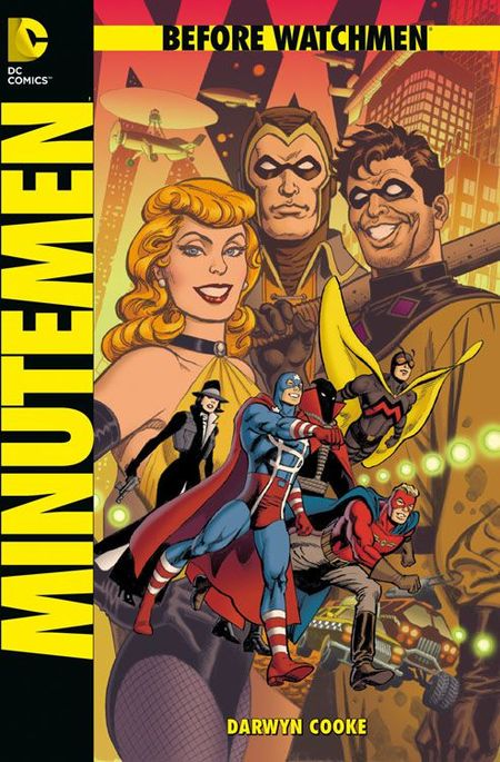 Before Watchmen: Minutemen - Das Cover