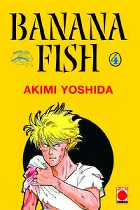 Banana Fish 4 - Das Cover