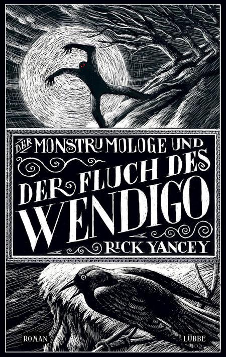 Der Monstrumologe und der Fluch des Wendigo - Das Cover