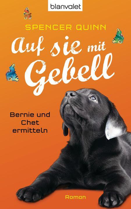 Auf sie mit Gebell: Bernie und Chet ermitteln - Das Cover