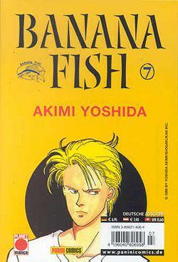 Banana Fish 7 - Das Cover
