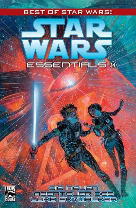 Star Wars Essentials 14: Die neuen Abenteuer des Luke Skywalker - Das Cover