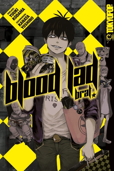 Blood Lad Brat - Das Cover
