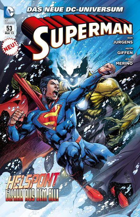 Superman Sonderband 53: Helspont-Gefahr aus dem All - Das Cover