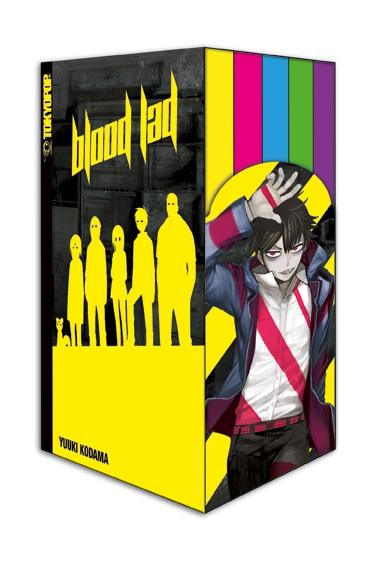 Blood Lad Box - Das Cover