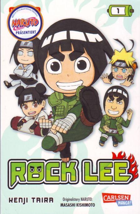 Rock Lee 1 - Das Cover