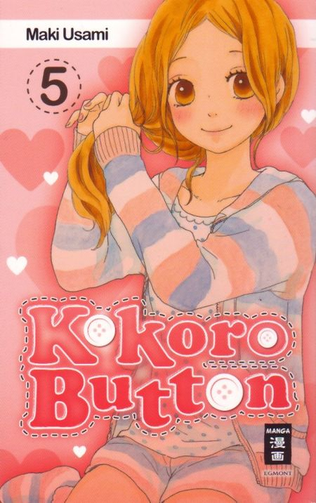 Kokoro Button 5 - Das Cover