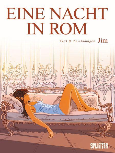 Eine Nacht in Rom 1 - Das Cover