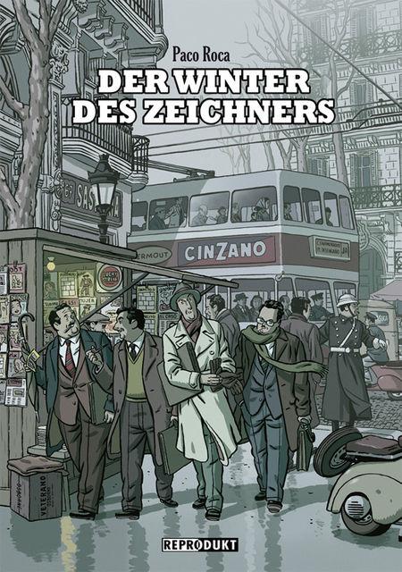 Der Winter des Zeichners - Das Cover