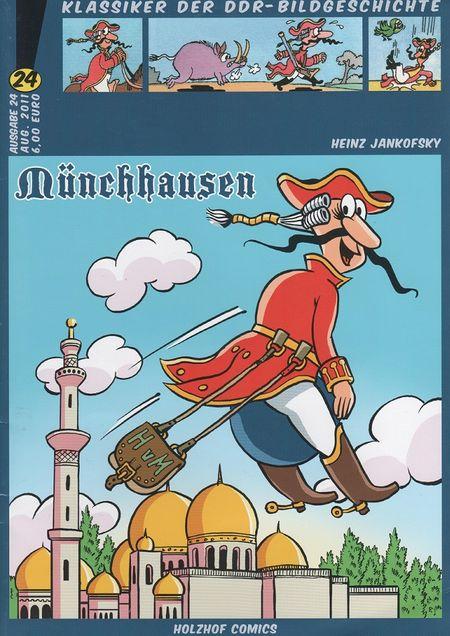 Klassiker der DDR-Bildgeschichte Band 24: MÜNCHHAUSEN - Das Cover