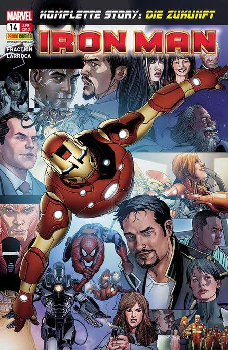 Iron Man 14 - Das Cover