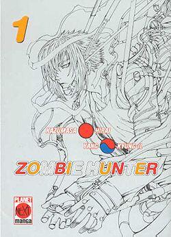 Zombie Hunter 1 - Das Cover