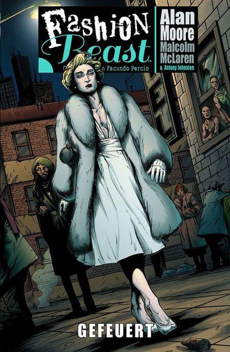 Fashion Beast 1: Gefeuert - Das Cover