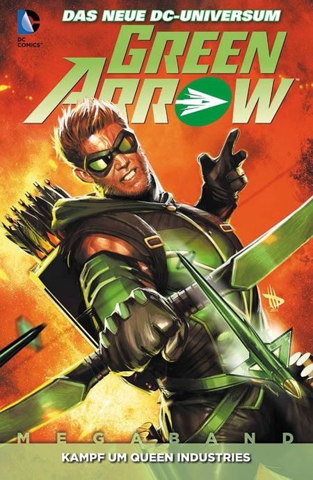 Green Arrow Megaband 1 - Das Cover