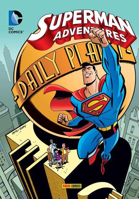 Superman Adventures TV Comic 1 - Das Cover
