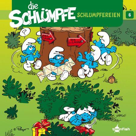 Die Schlümpfe: Schlumpfereien 6 - Das Cover