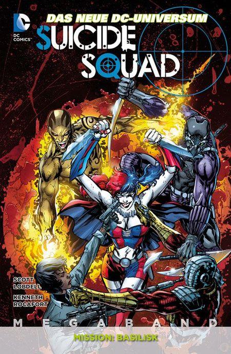 Suicide Squad Megaband 1 - Das Cover