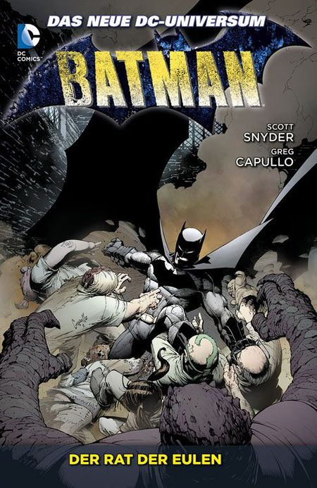 Batman 1: Der Rat der Eulen - Das Cover