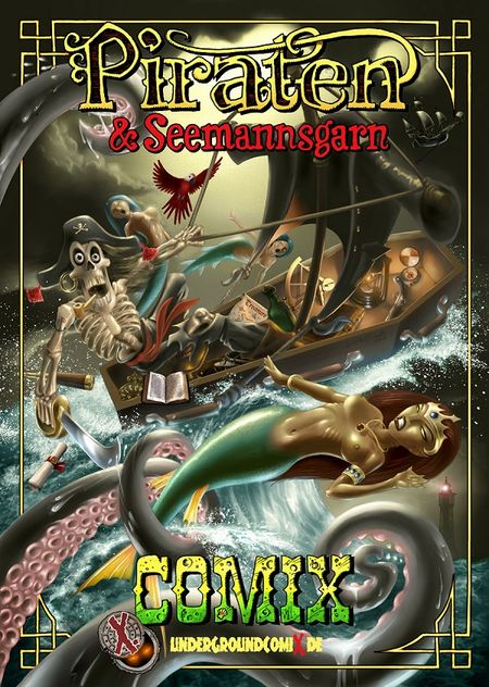Piraten & Seemannsgarn - Das Cover