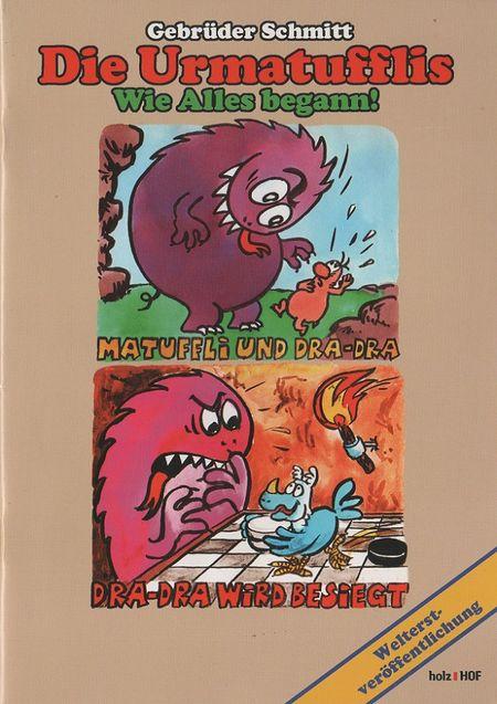 Klassiker der DDR-Bildgeschichte: Sonderband 3: Die Urmatufflis - Das Cover