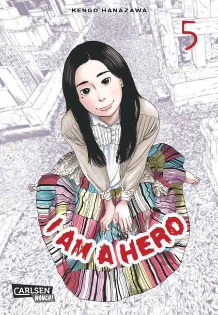 I am a Hero 5 - Das Cover