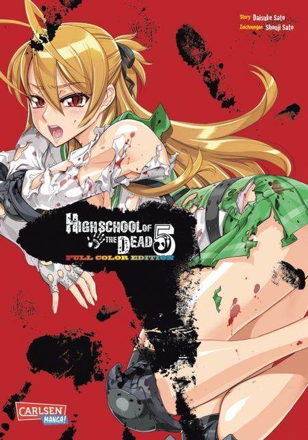 Highschool of the Dead Full Color Edition 5 - Das Cover