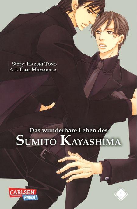 Das wunderbare Leben des Sumito Kayashima 1 - Das Cover