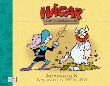 Hägar der Schreckliche - Gesamtausgabe 20 - Sonntagsstrips 1997 bis 2003 - Das Cover