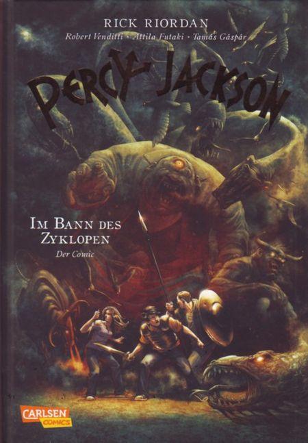 Percy Jackson - Im Bann des Zyklopen - Das Cover