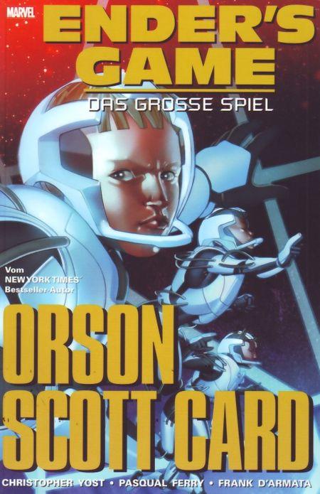 Enders Game 1: Das große Spiel - Das Cover