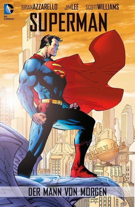Superman: Der Mann von Morgen - Das Cover