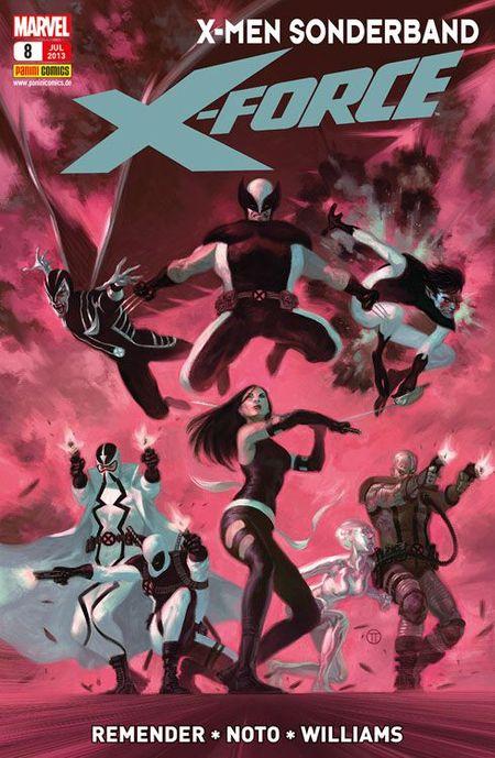 X-Men Sonderband: Die neue X-Force 8 - Das Cover