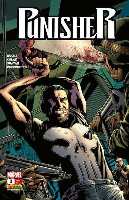 Punisher 3: Die Mission - Das Cover