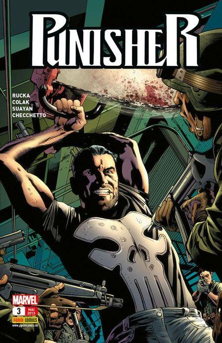 Punisher 3: Die Mission - Das Cover