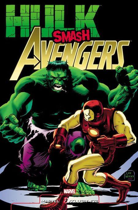Marvel Exklusiv 102: Hulk Gegen Avengers SC - Das Cover