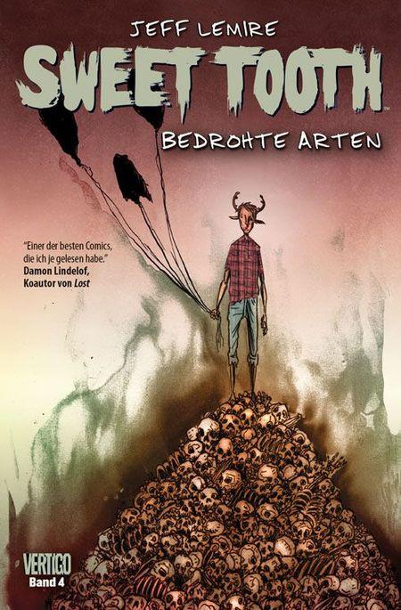 Sweet Tooth 4: Bedrohte Arten - Das Cover