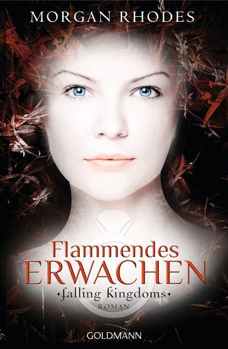 Flammendes Erwachen: Falling Kingdoms 1 - Das Cover