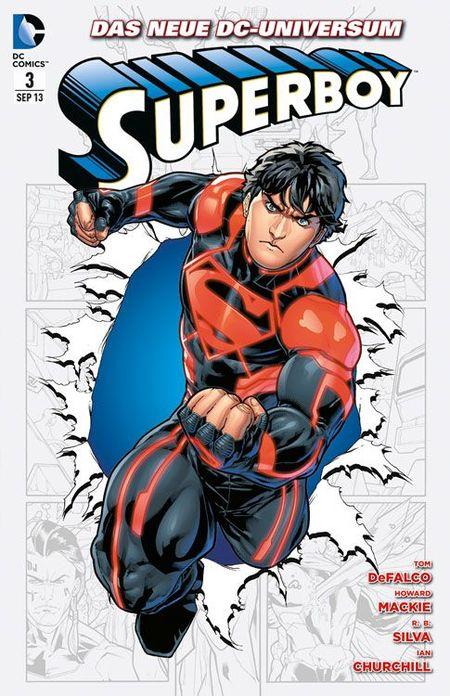 Superboy 3: Klonkrieger - Das Cover