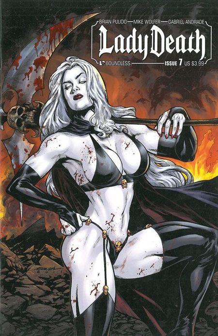 Lady Death 2 - Das Cover