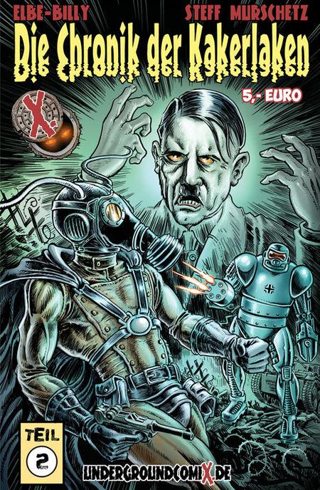 Die Chronik der Kakerlaken 2 - Das Cover